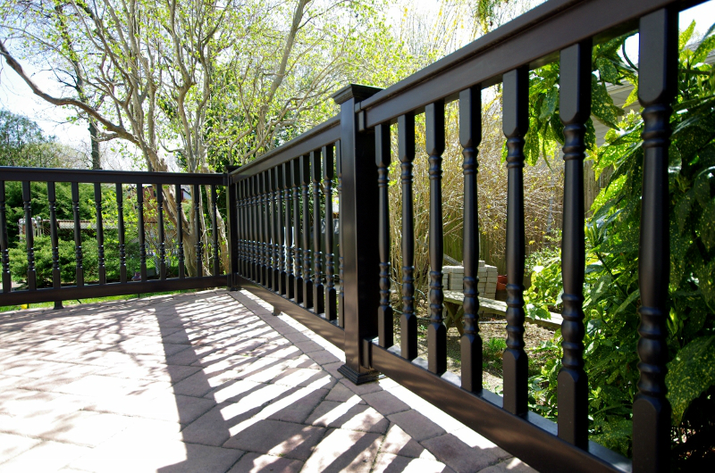 Where Can I Find Black Vinyl Railing Illusions Vinyl Fence