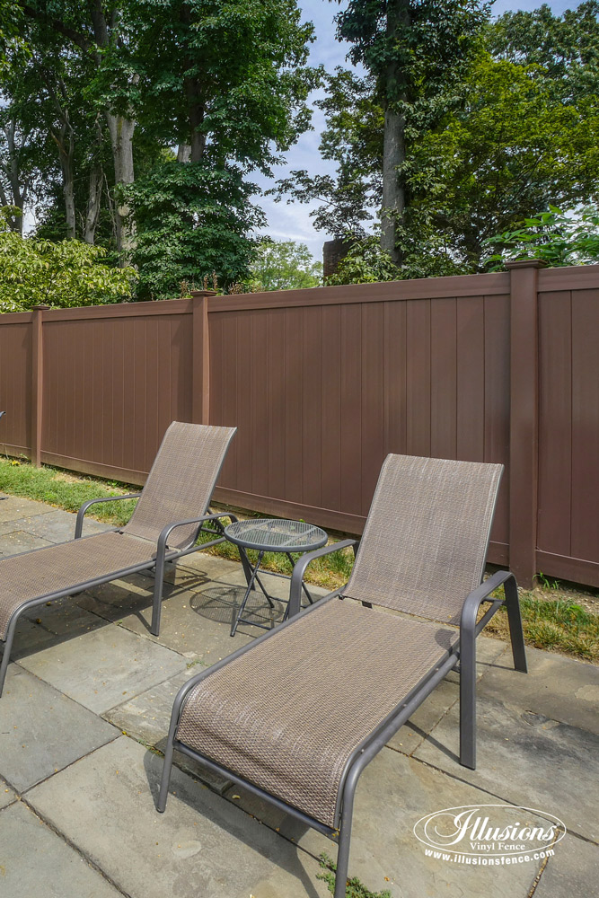 Brown Vinyl Fence Archives Illusions Vinyl Fence