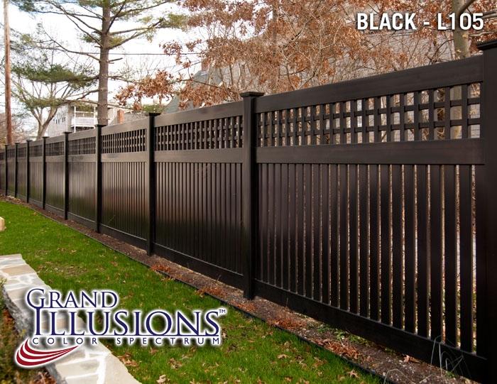 Vinyl fence lattice archives illusions