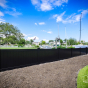Black PVC Vinyl Illusions Privacy Fence Panels_0027