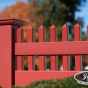 V3700-6 Illusions T&G Vinyl Privacy Fence