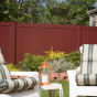 V300-6 Tongue & Groove 6\' PVC Privacy Fence in Bordeaux (E119)