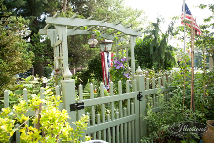 Green Picket Fence Archives Illusions Vinyl Fence