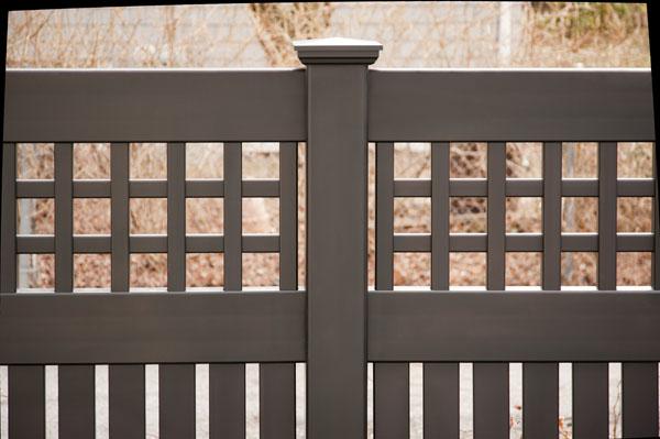Black Vinyl Fencing