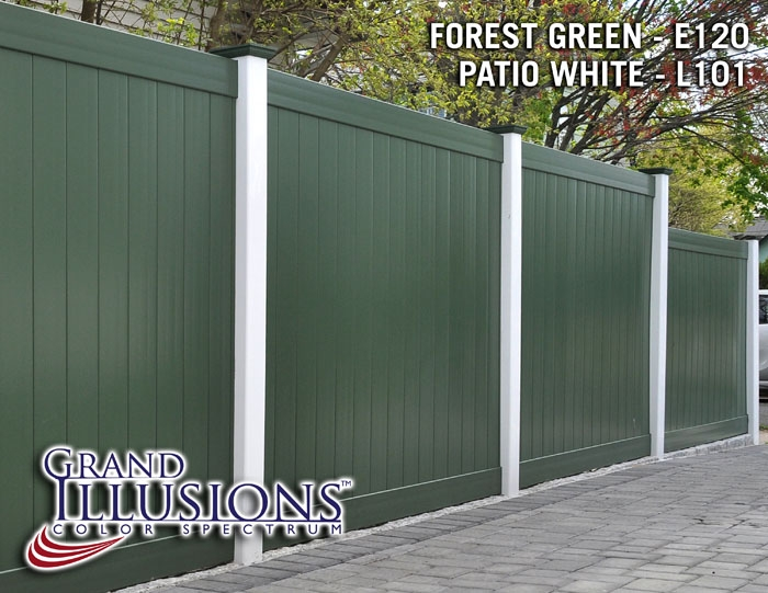 Illusions Pvc Vinyl Fence Photo Gallery Illusions Vinyl
