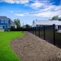 Black PVC Vinyl Illusions Privacy Fence Panels_0025