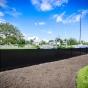 Black PVC Vinyl Illusions Privacy Fence Panels_0027