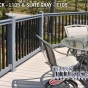 VRT6-3 Railing in Black (L106) and Slate Gray (E105)
