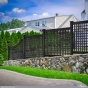black-vinyl-lattice-fence-panels-from-illusions-PVC-fence
