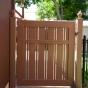 VWG300 Semi-Privacy Walk Gate with Alternating 1-1/2