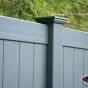 V300-6 Color Vinyl Tongue and Groove Privacy Fence