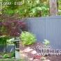 V300-6 T&G PVC Privacy Fence in Slate Gray (E105)