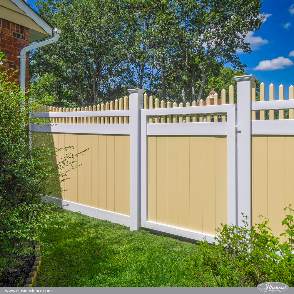 Fences And Gates: Illusions PVC Vinyl Fence Photo Gallery