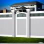 illusions-pvc-vinyl-8x8-inch-posts-gray-white-green-fencing-panels