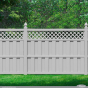 Illusions-PVC-VInyl-Board-on-Board-Fence-in-Classic-Gray
