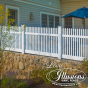 V700-4 Illusions Classic Victorian Straight Top Picket Fence in Classic White is the answer to your American Dream #fence #americandream #whitepicketfence #fencepostfriday #fences #vinylfence #pvcfence #vinylfences #pvcfences #picketfence #fencecompany #fencecontractor #fenceinstaller #fencesupplies #longisland #longislandny #connecticut #rhodeisland #massachusetts #newjersey #pennsylvania #thenortheast #tristatearea
