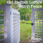 Old-English-Lattice-Illusions-Vinyl-Fence