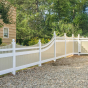 V3707-Beige-and-White-Illusions Vinyl Fence