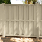 V210-6BG - BOARD-ON-BOARD PVC PRIVACY FENCE