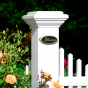 ILLUSIONS VINYL FENCE MAJESTIC POSTS
