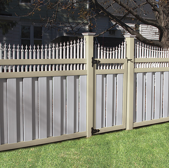 Beige Vinyl Fence Archives Illusions Vinyl Fence