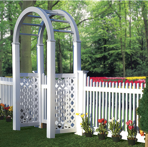 Victorian Picket Archives Illusions Vinyl Fence
