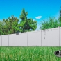 V300-6 T&G Privacy Fence in Gray (C103)