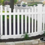 V352-4TR Scalloped Contemporary Picket with Curved Section
