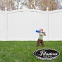 VBF300-6 CURVED PVC/VINYL PRIVACY FENCE