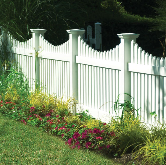 Contemporary Picket Fence Archives Illusions Vinyl Fence