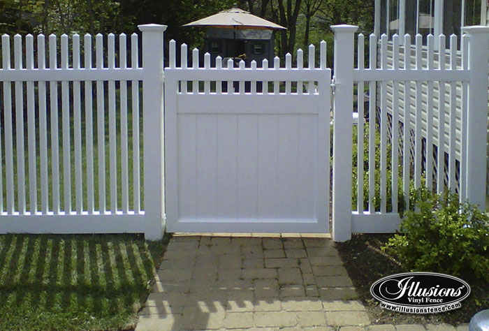 Victorian Picket Fence Archives Illusions Vinyl Fence