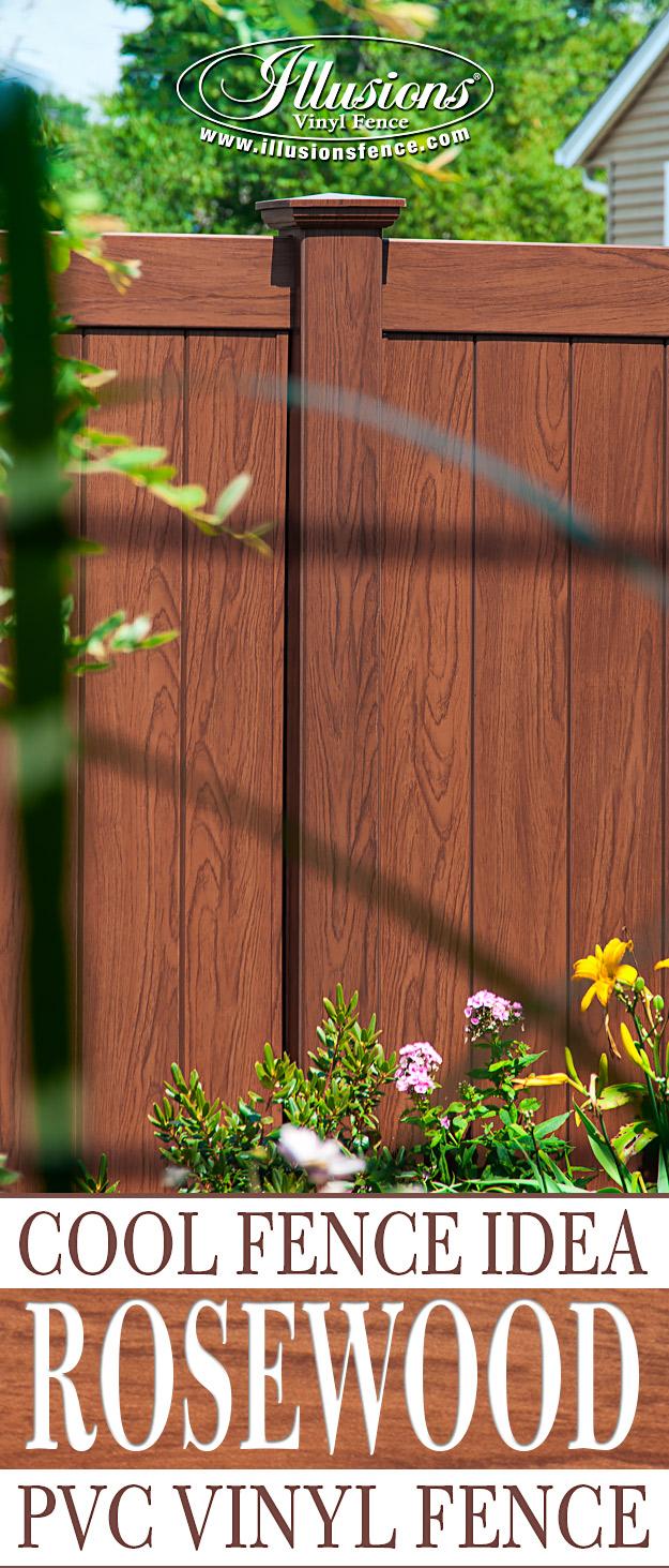 Grand Illusions Vinyl Woodbond   Illusions Fence