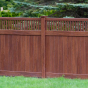 Crafstman-Style-Wood-Grain-PVC-Fence-From-Illusions
