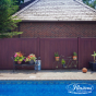 Mahogany PVC Vinyl Fence by Illusions Fence_0015