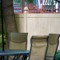 PVC-Vinyl-Wood-Grain-Cedar-Fence-From-Illusions