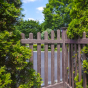 Walnut-PVC-Vinyl-Picket-Fence-from-Illusions-Vinyl-Fence