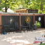 black-and-rosewood-pvc-vinyl-privacy-fencing
