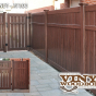 V5006-6 Semi-Privacy Fence