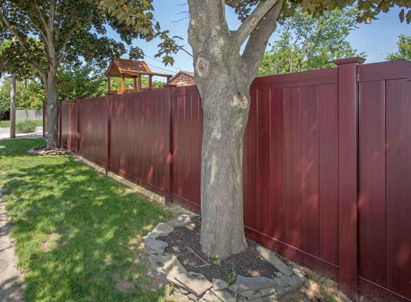 Vinyl Mahogany Archives Illusions Vinyl Fence