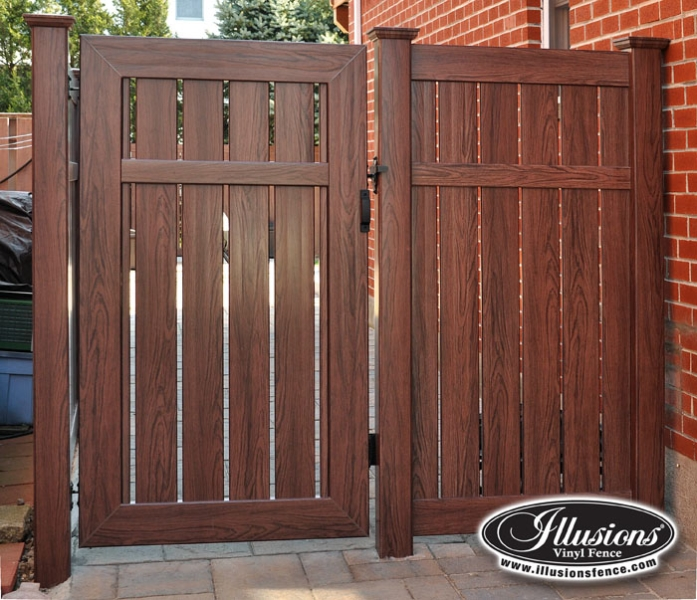 Illusions Vinyl Fence