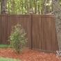V300-6 - Grand Illusions Vinyl WoodBond Walnut (W103) T&G Privacy Fence