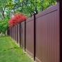 Mahogany-PVC-VInyl-Privacy-Fence-From-Illusoins