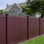 Mahogany PVC Vinyl Fence by Illusions Fence_0002