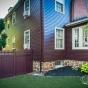 Mahogany PVC Vinyl Fence by Illusions Fence_0003