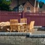 Mahogany PVC Vinyl Fence by Illusions Fence_0004