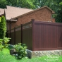 Mahogany PVC Vinyl Fence by Illusions Fence_0010