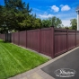 Mahogany PVC Vinyl Fence by Illusions Fence_0013