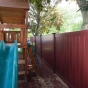 Mahogany-PVC-Vinyl-Illusions-Privacy-Fence
