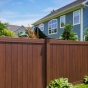 PVC-Vinyl-Wood-Grain-Rosewood-Illusions-Privacy-Fence