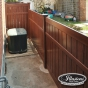 V5006-6 Semi-Privacy Fence Enclosure